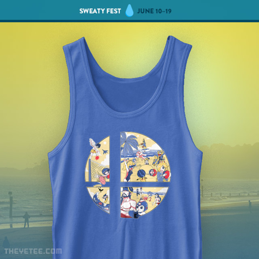The Yetee: Beach Party Tank Top