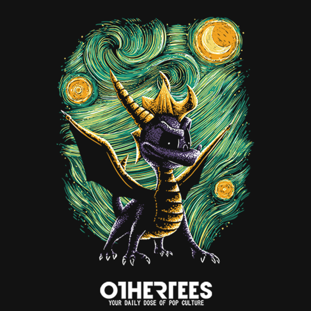OtherTees: Starry Dragon
