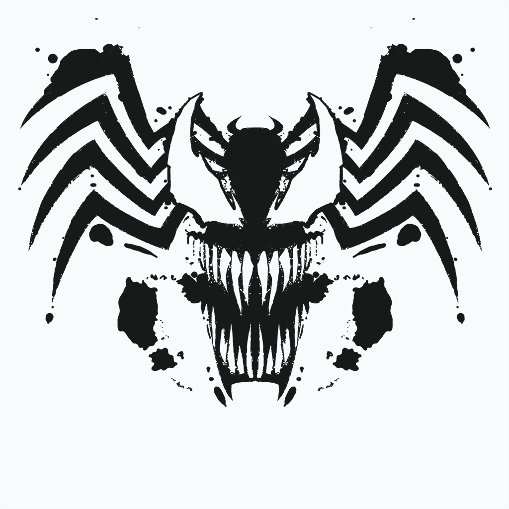 Pop-Up Tee: Symbiote Rorschach