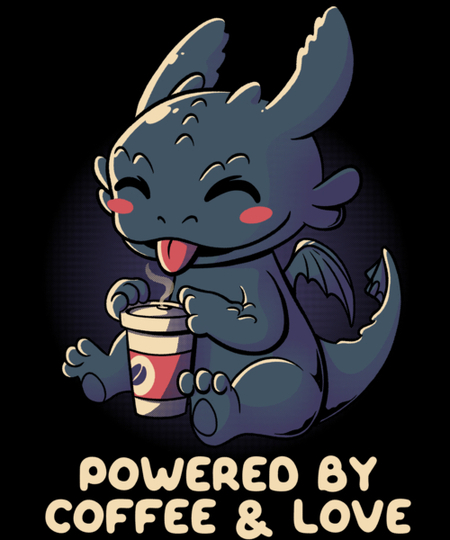 Qwertee: Powered By Coffee and Love