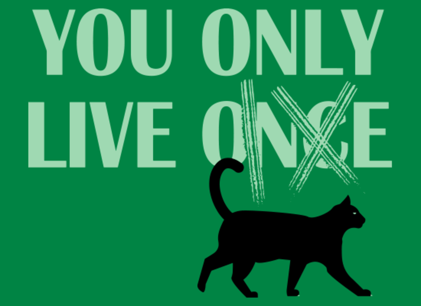 SnorgTees: You Only Live 9