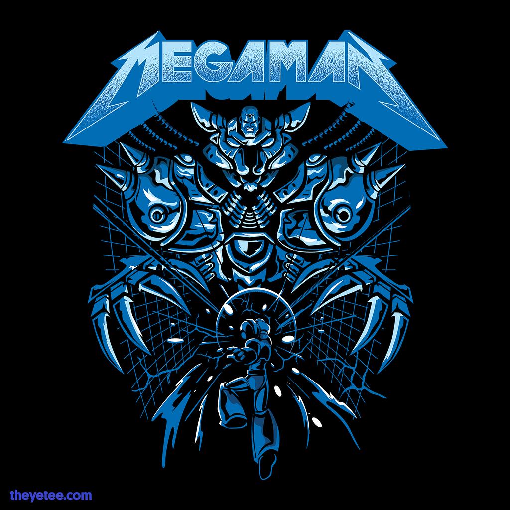 The Yetee: Mega Rockman