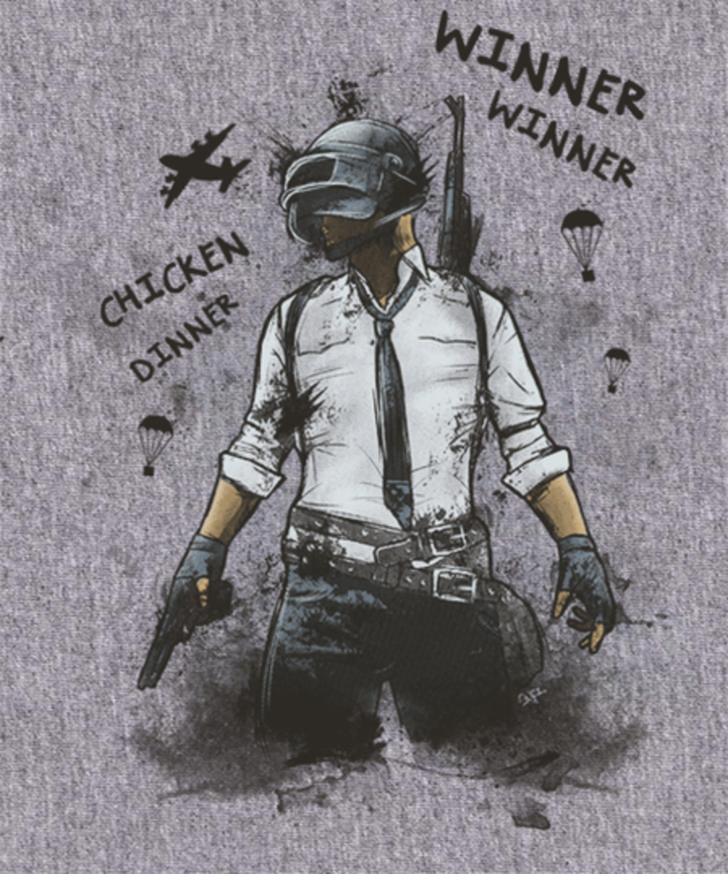 Qwertee: Winner Winner Chicken Dinner
