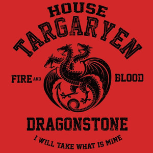 We Heart Geeks: Fire and Blood (Black) - Men's T-Shirt