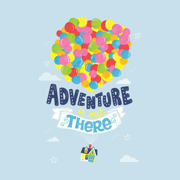 TeePublic: Adventure is out there