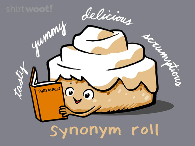 Woot!: Synonym Roll