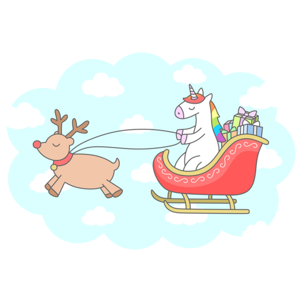 NeatoShop: Unicorn Sleigh