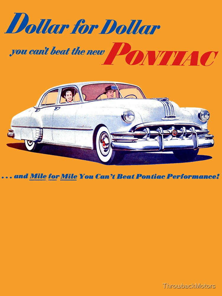 RedBubble: 1950 PONTIAC CHIEFTAIN