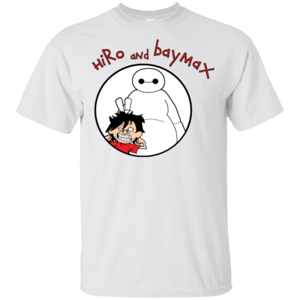 Pop-Up Tee: Hiro and Baymax