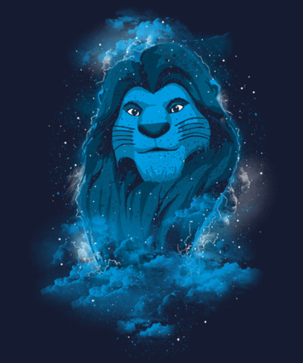 Qwertee: The Lion