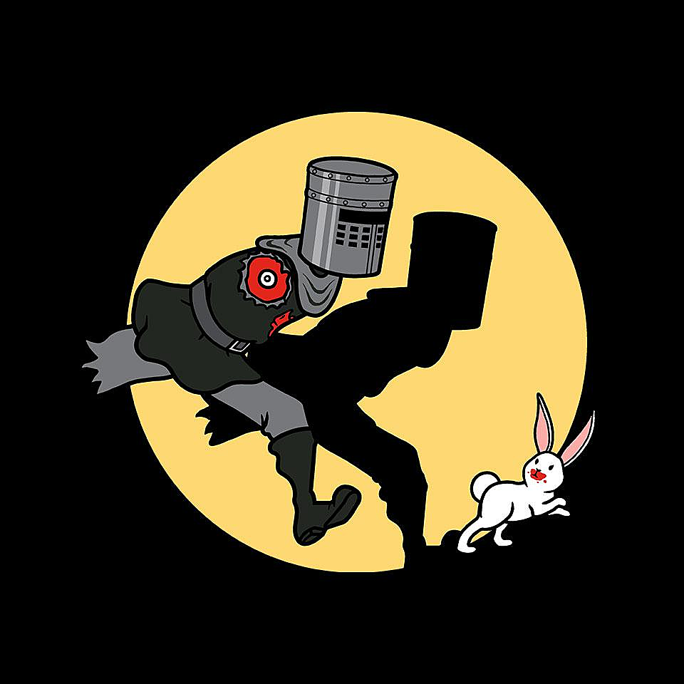 TeeFury: The Adventures of the Black Knight