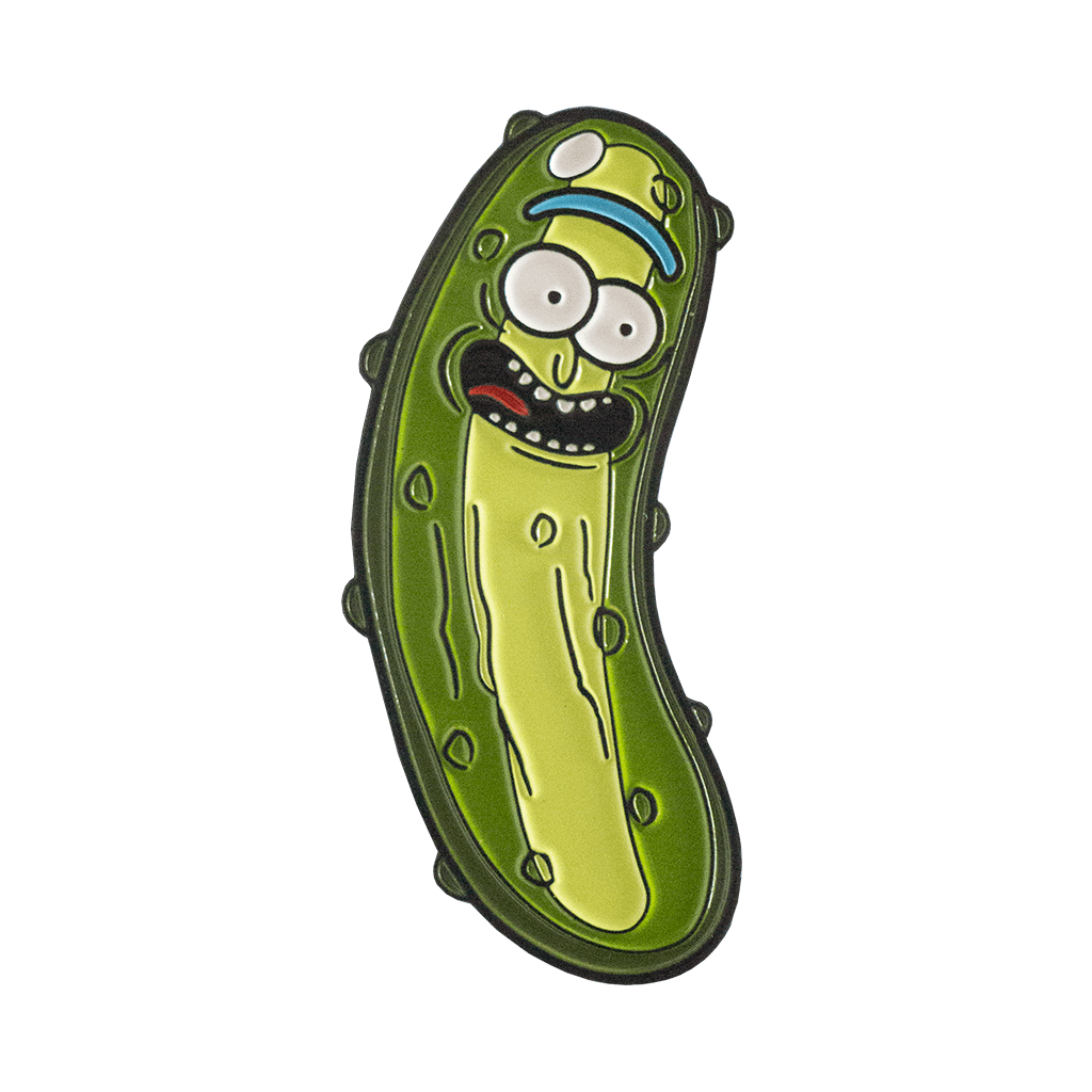 Pop Vulture: Pickle Rick Pin