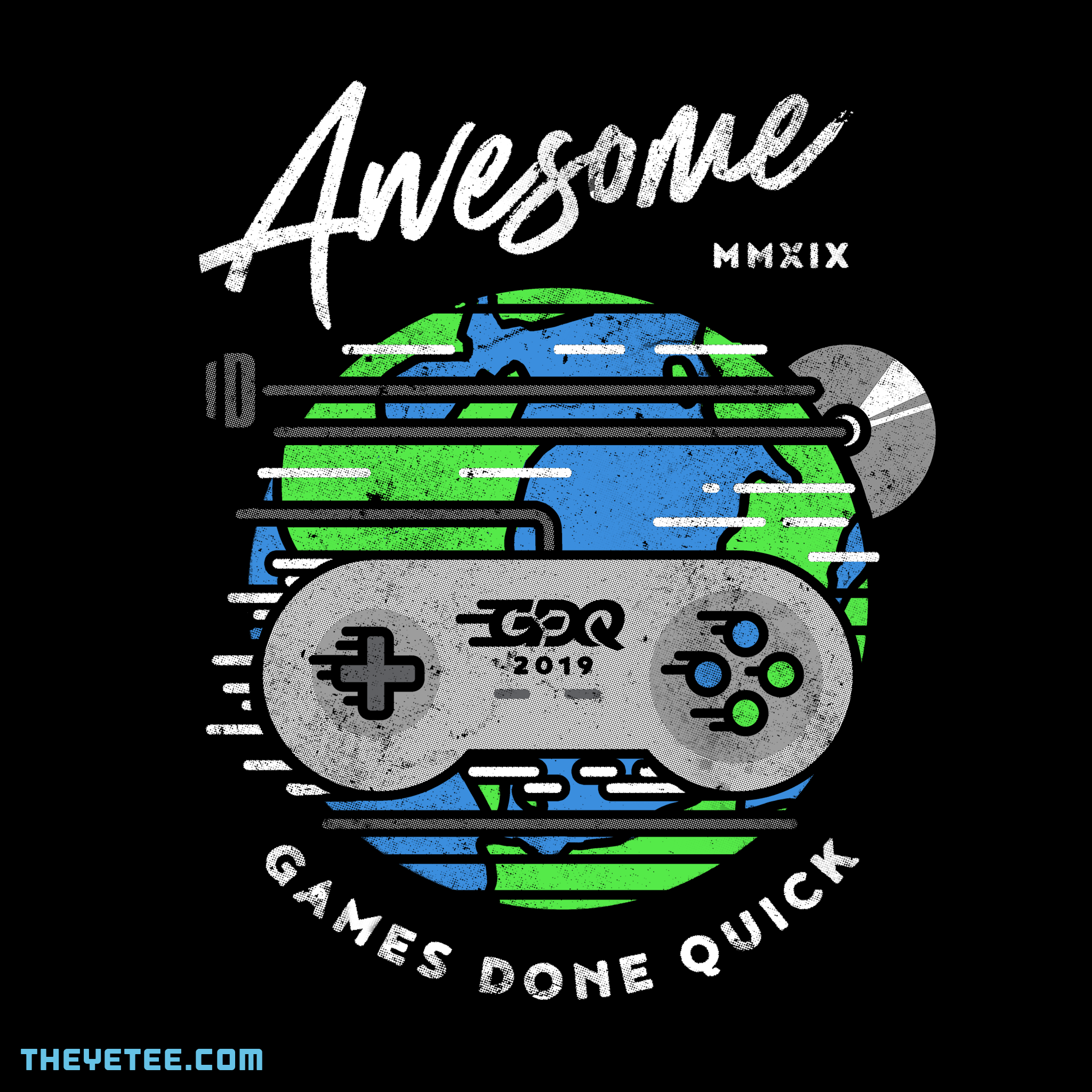 The Yetee: AGDQ 2019 Event Tee