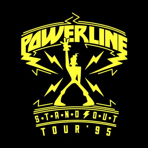 Five Finger Tees: Powerline Stand Out Tour T-Shirt