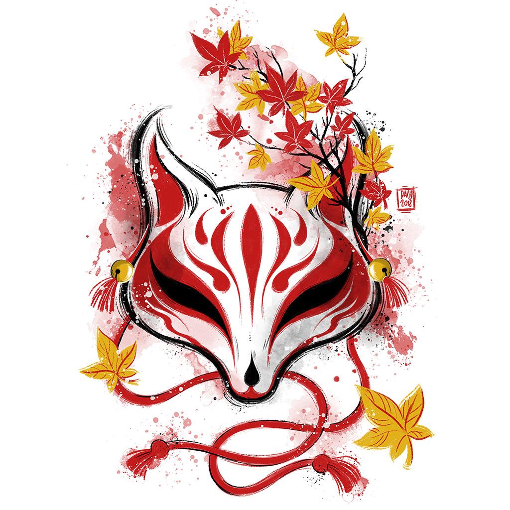 TeeTee: Autumn Kitsune