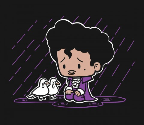 TeeFury: Purple Rain-Exclusive