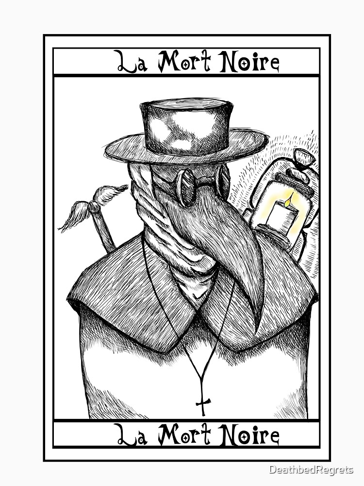 RedBubble: Plague Doctor Tarot