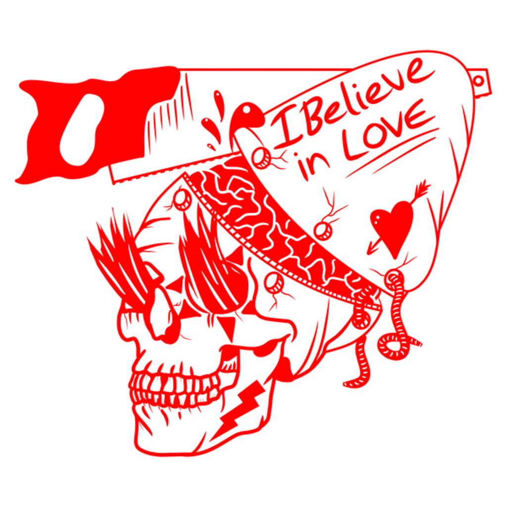 NeatoShop: Funny red alien skull