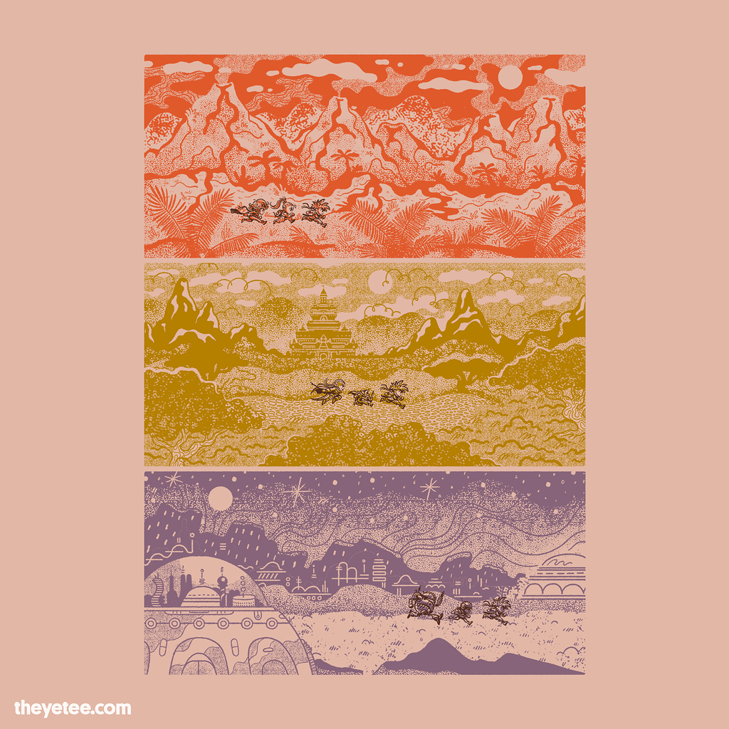 The Yetee: Fantastic Timeline