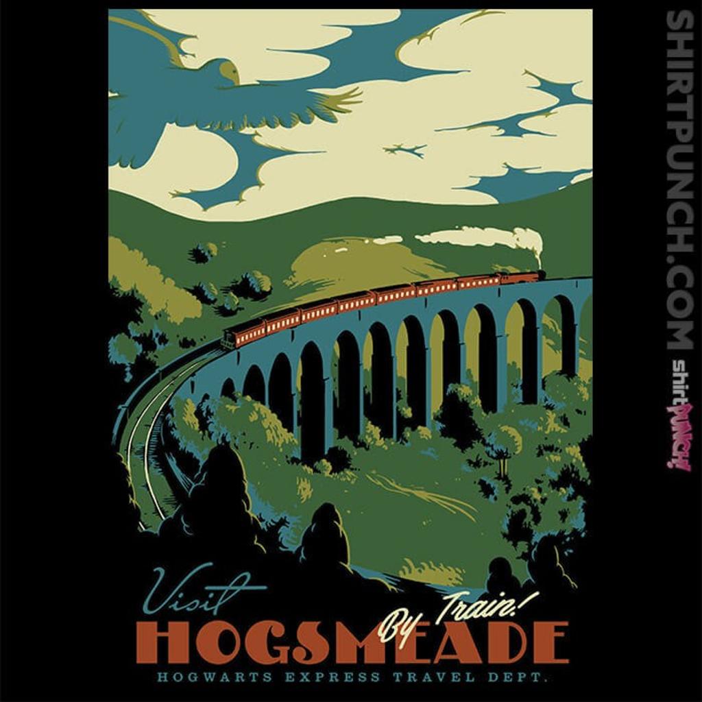 ShirtPunch: Visit Hogsmeade