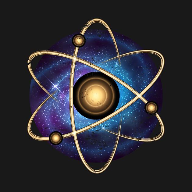 TeePublic: Atom Universe Quantum Physics