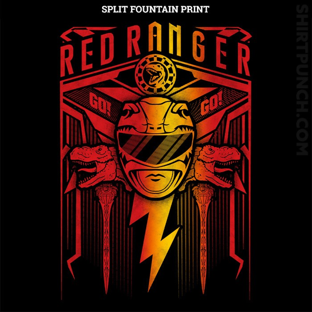 ShirtPunch: Red Ranger Crest