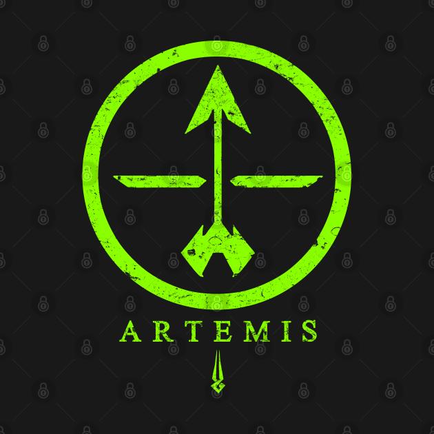 TeePublic: Symbol of Artemis - Hades