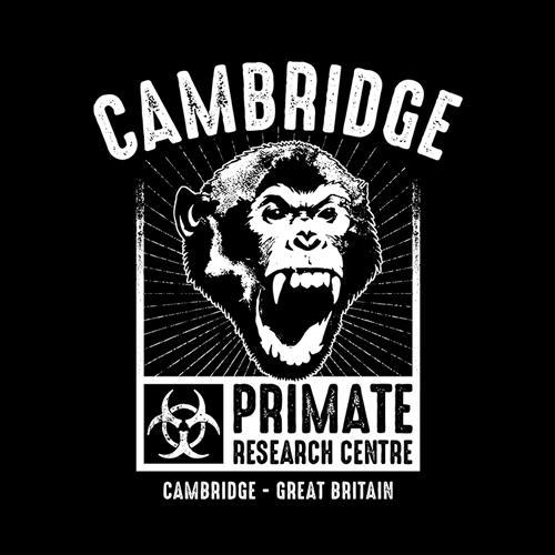 Five Finger Tees: Cambridge Primate Research Centre T-Shirt