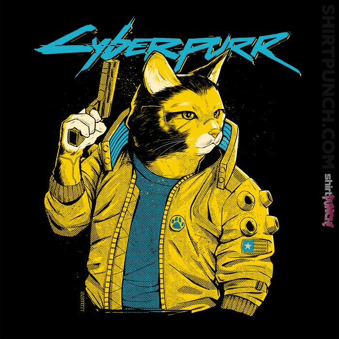 ShirtPunch: Cyberpurr
