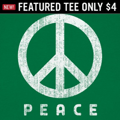 6 Dollar Shirts: Peace Sign