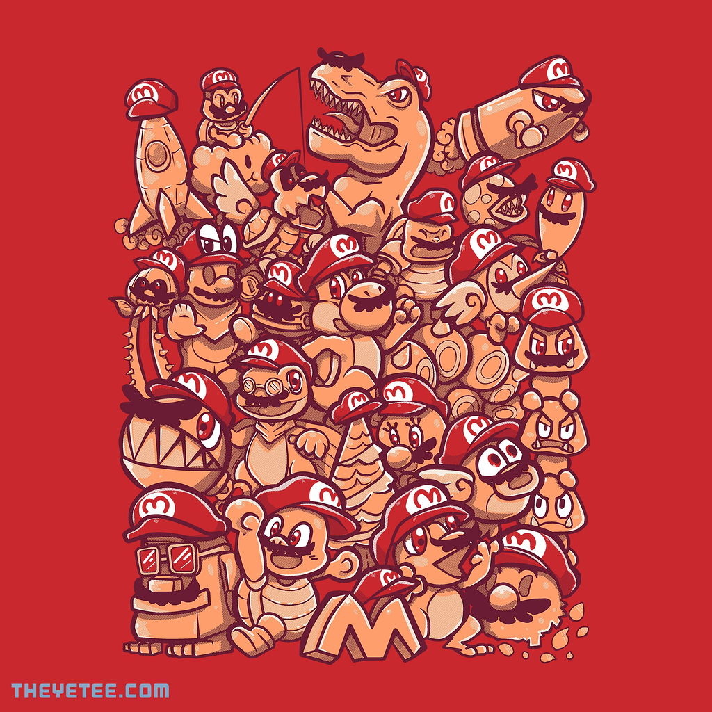 The Yetee: Cap Party