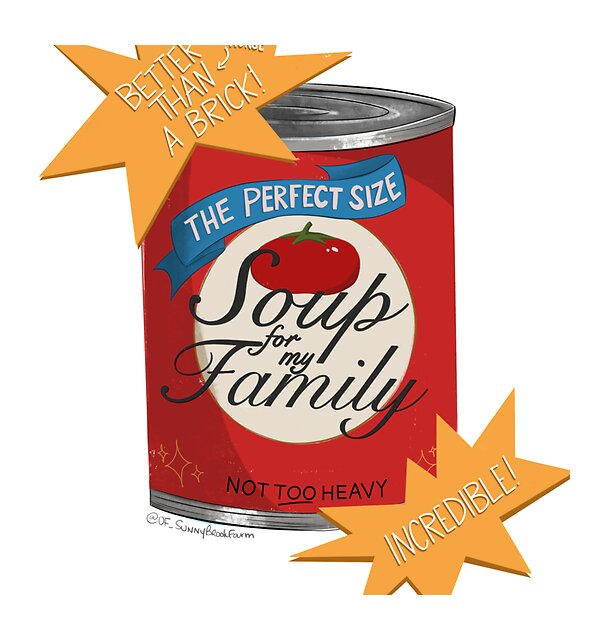 RedBubble: Soup for My Family