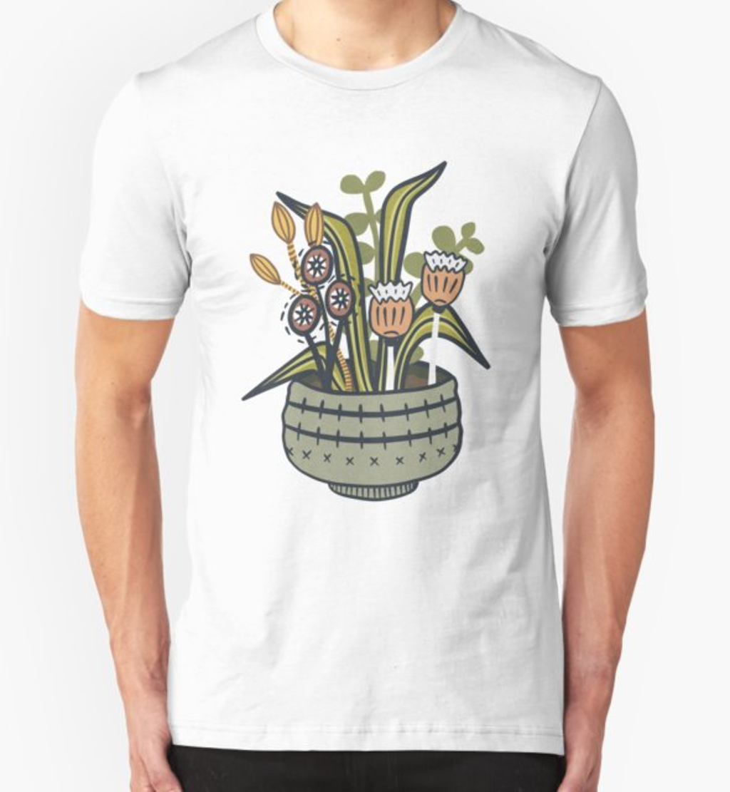RedBubble: Cheeky Modern Botanical