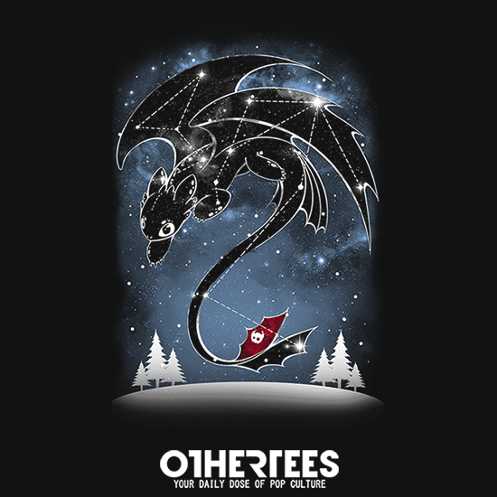 OtherTees: Starry Dragon Sky