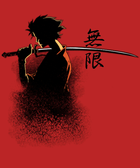 Qwertee: Mugen samurai