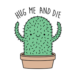 TeePublic: Hug me and die