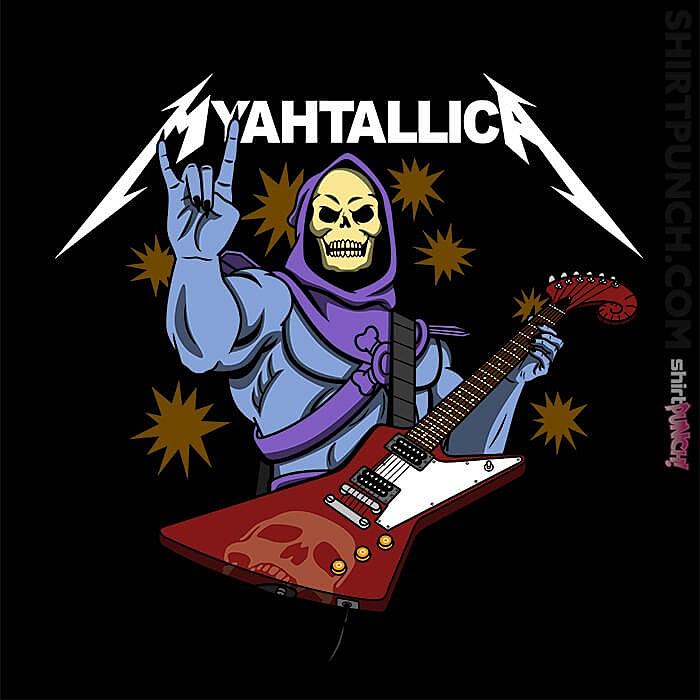 ShirtPunch: Myahtallica