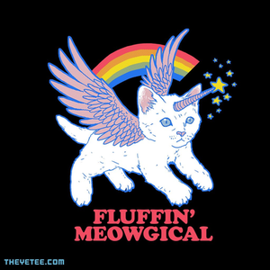 The Yetee: Fluffin' Meowgical