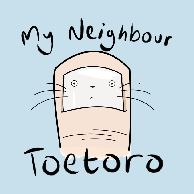 TeePublic: My Neighbour Toetoro