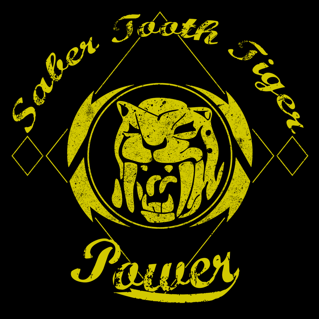 Pop-Up Tee: Saber Tooth Tiger