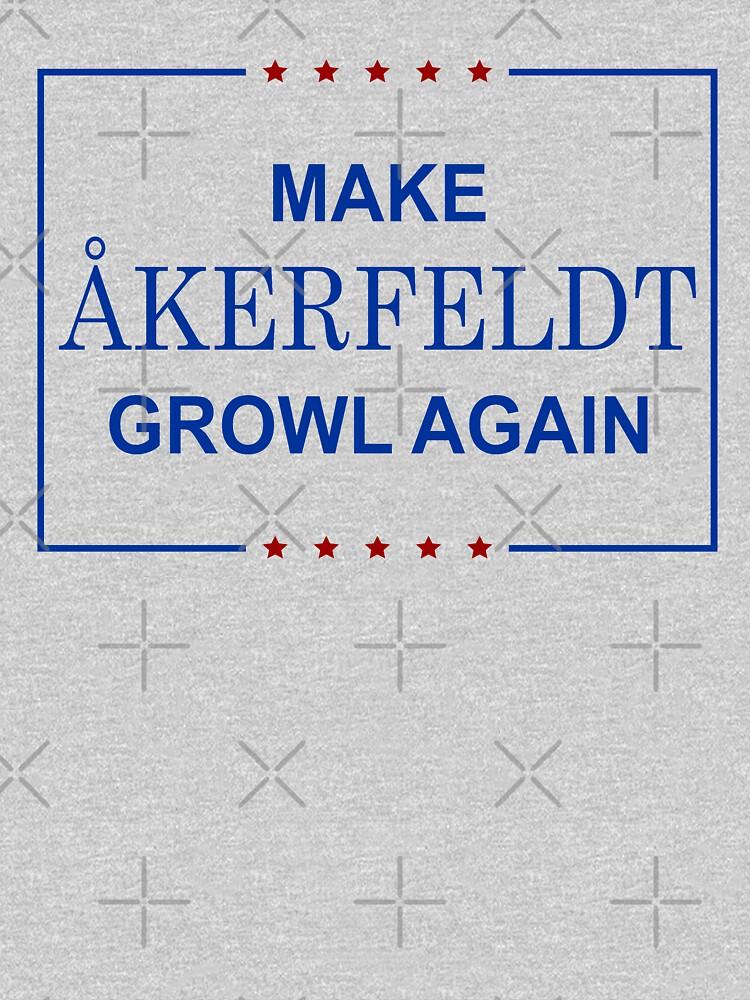 RedBubble: Make Åkerfeldt Growl Again - Color
