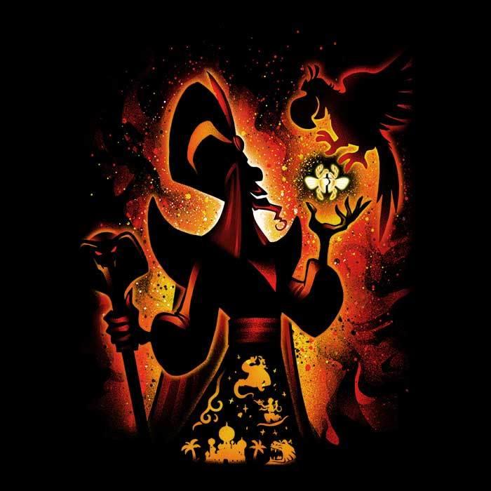 Once Upon a Tee: Evil Sorcerer