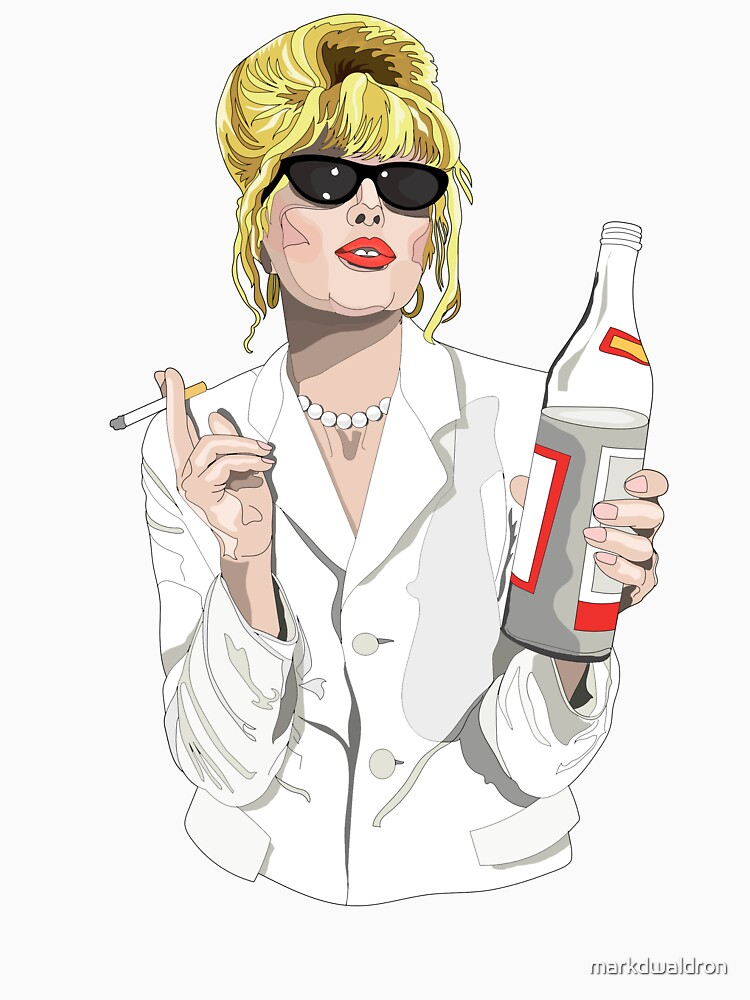 RedBubble: Patsy Stone AbFab Cheers Darling