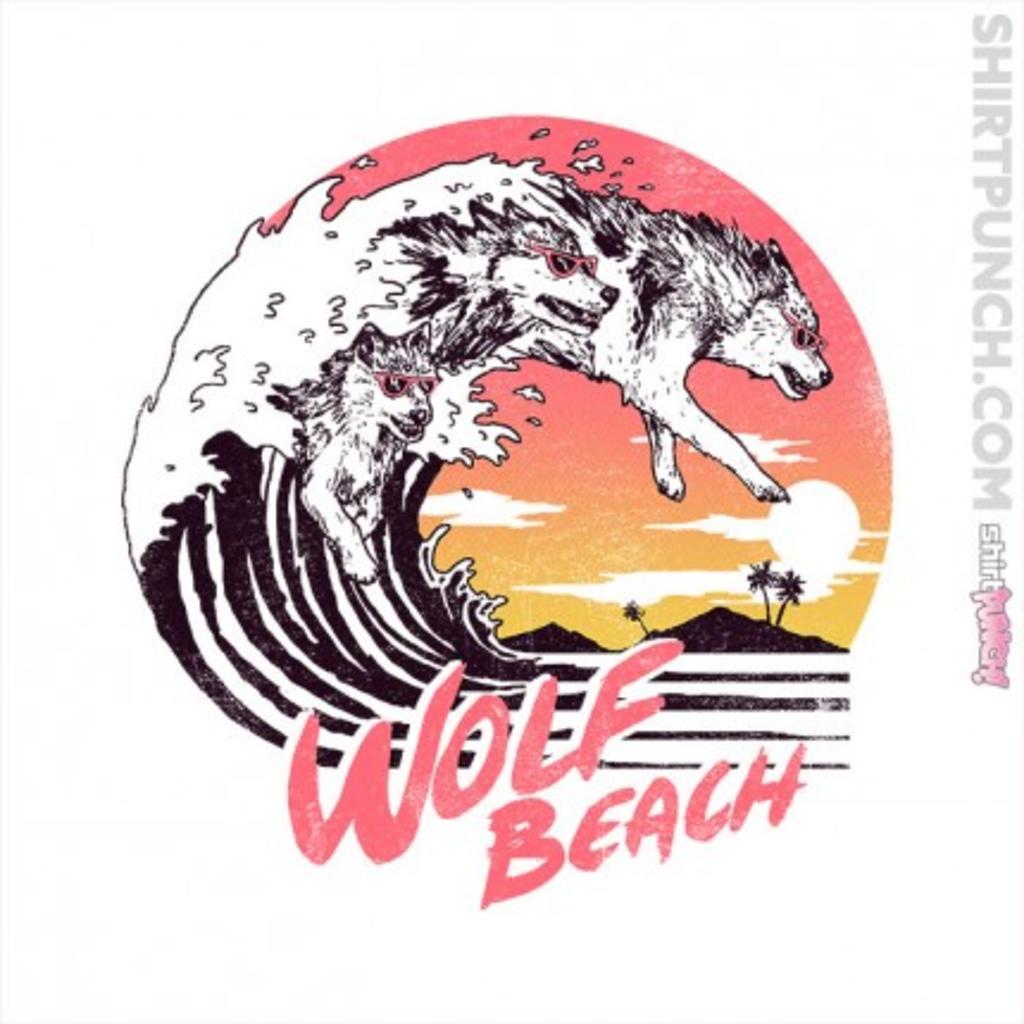 ShirtPunch: Wolf Beach