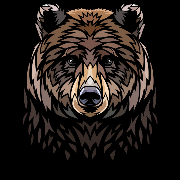 NeatoShop: Tribal Bear