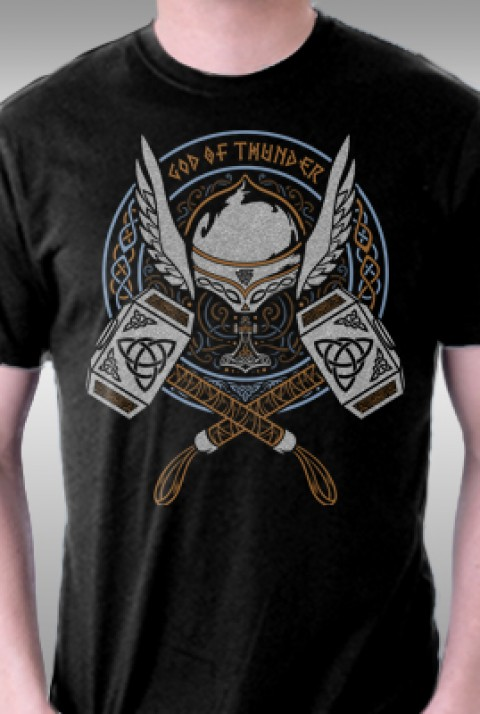 TeeFury: The Thunder God