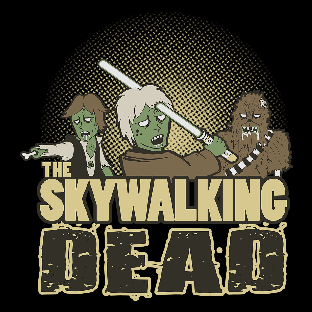 Pop-Up Tee: Skywalking Dead