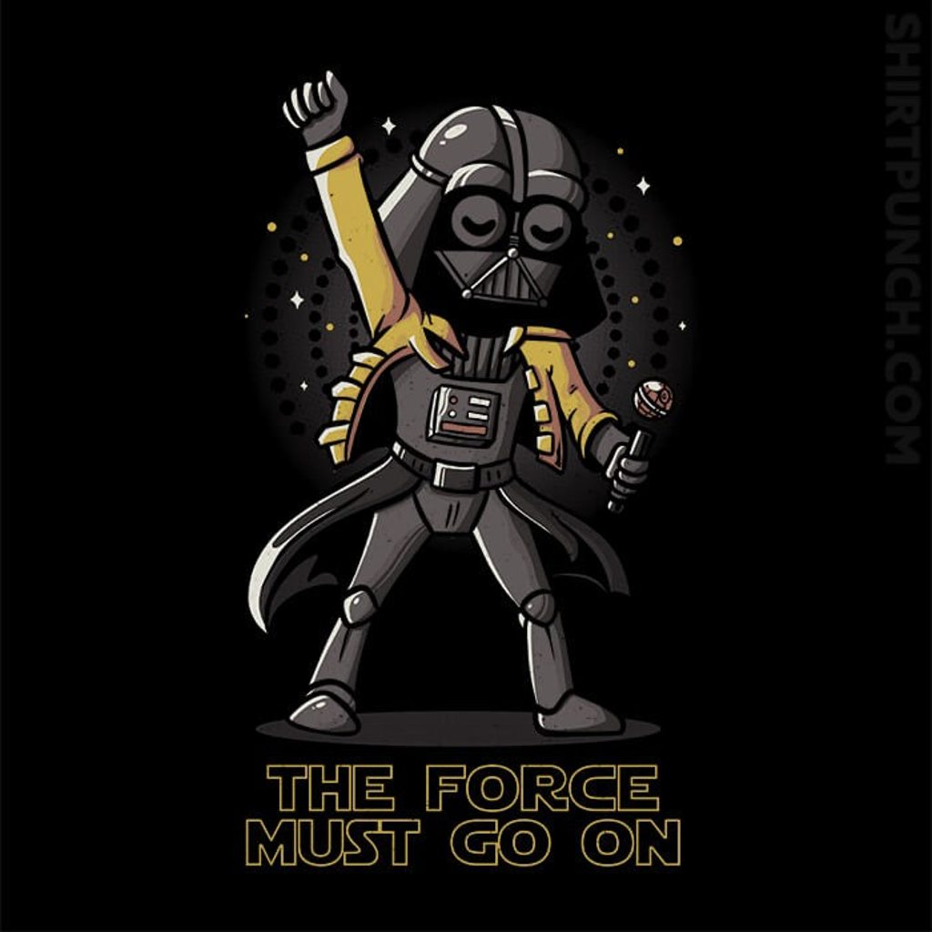 ShirtPunch: The Force Must Go On