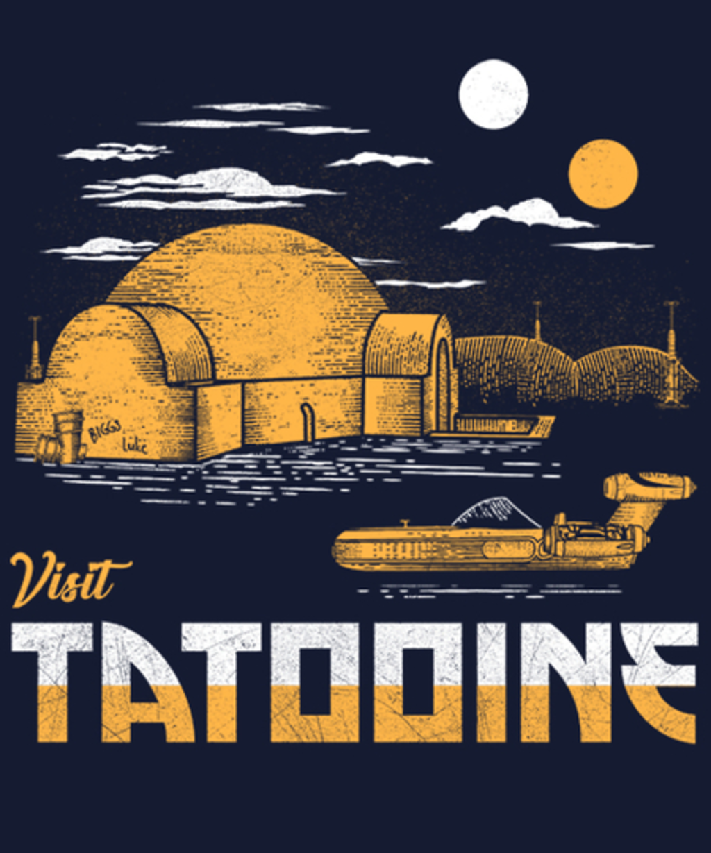 Qwertee: Visit Tatooine