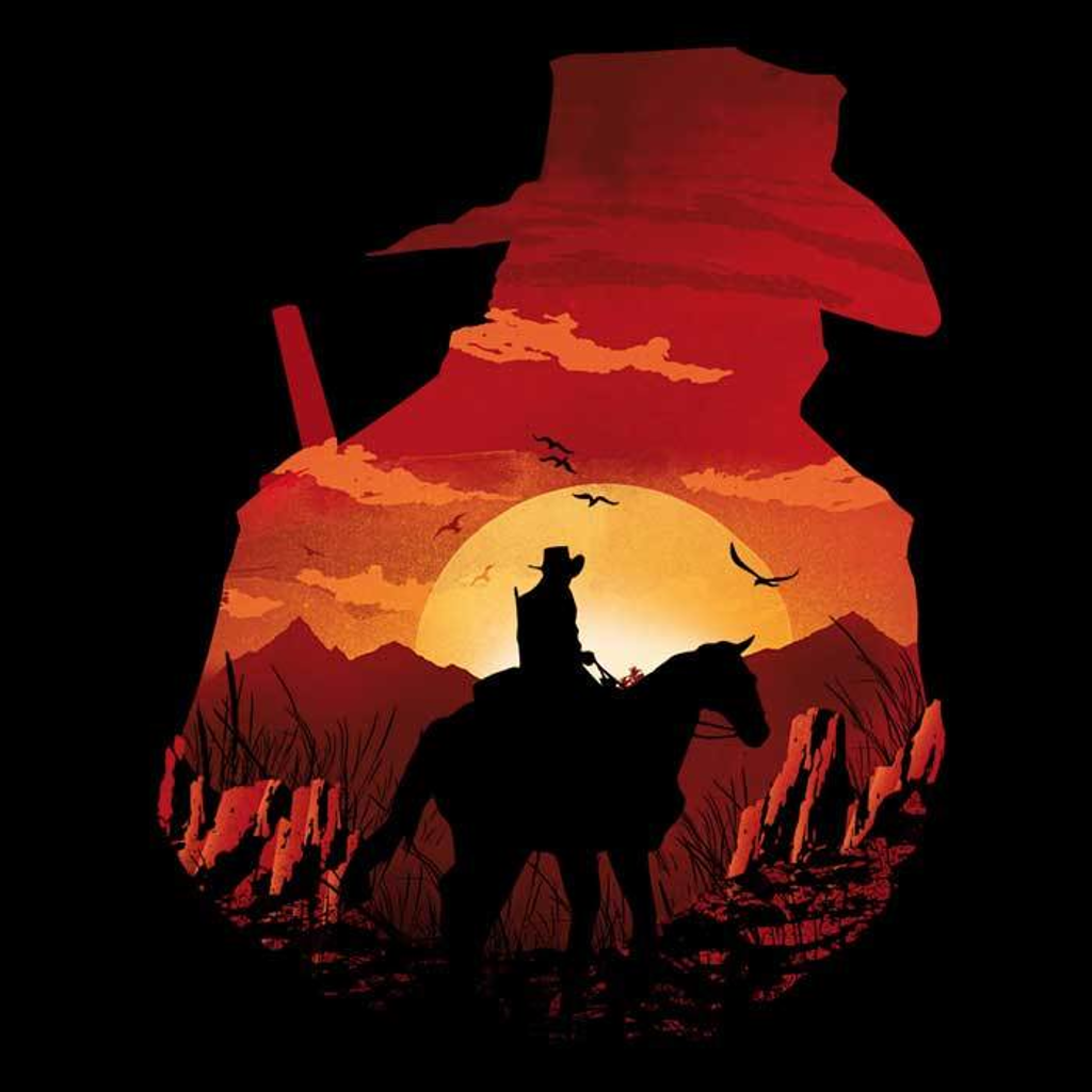 Once Upon a Tee: Red Dead Sunset